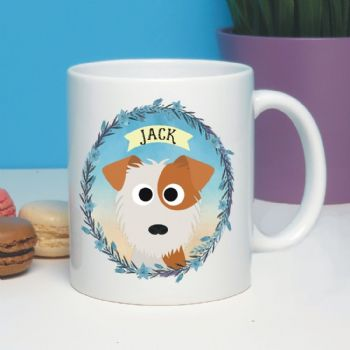 Personalised Dog Mug - Jack Russell, Westie, Yorkie, Chihuahua - Ideal Pet gift for a dog owner